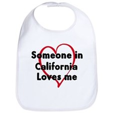 Loves me: California Bib