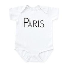 Paris Only Infant Bodysuit