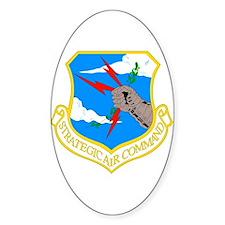 USAF SAC Oval Decal
