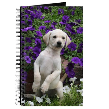 Yellow Lab Buddy Journal
