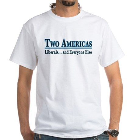 Two Americas White T-Shirt