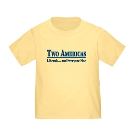 Two Americas Toddler T-Shirt