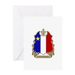 Fier Acadien Greeting Card