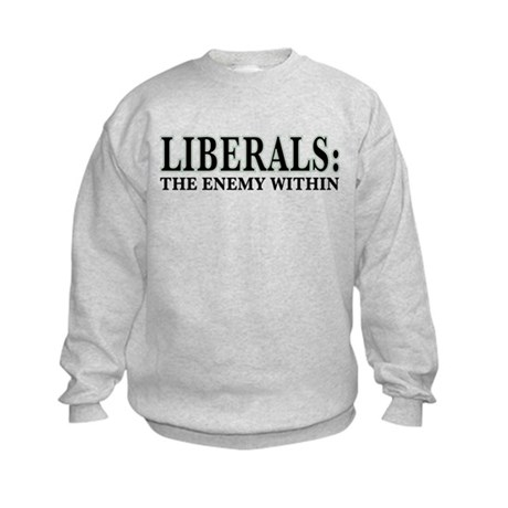 Liberals Kids Sweatshirt