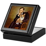 Lincoln's Corgi Keepsake Box