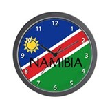 Namibia Wall Clock