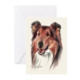 Collie Greeting Cards (Pk of 10)