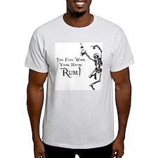 Time Flies/Having Rum T-Shirt