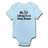 My Heart Belongs To an Army Ranger Infant Bodysuit