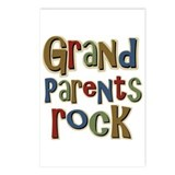 Grandparents Rock Day Holiday Postcards (Package o