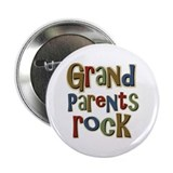 Grandparents Rock Day Holiday Button