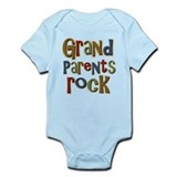 Grandparents Rock Day Holiday Onesie