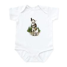 Three Wolves Infant Bodysuit