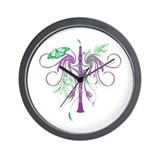 Fantasy Clarinet Wall Clock