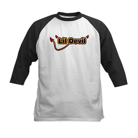 Little Devil Kids Baseball Jersey