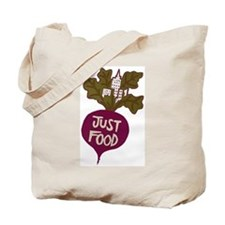 Just Food Tote Bag