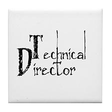 Technical Director Tile Coaster