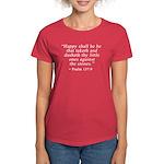 Psalm 137:9 Women's Dark T-Shirt