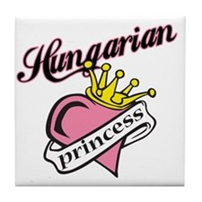 Hungarian Princess Tile Coaster