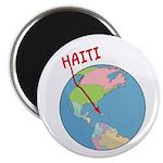 Haiti Map Magnet