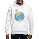 Haiti Map Hooded Sweatshirt
