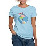 Haiti Map Women's Light T-Shirt