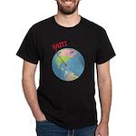 Haiti Map Dark T-Shirt
