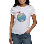 Haiti Map Women's T-Shirt