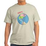Haiti Map Light T-Shirt