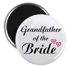 "Grandfather of the Bride 2.25"" Magnet (10 pack)"