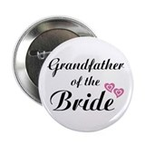 "Grandfather of the Bride 2.25"" Button (10 pack)"