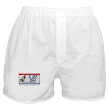 Blast Off! Boxer Shorts