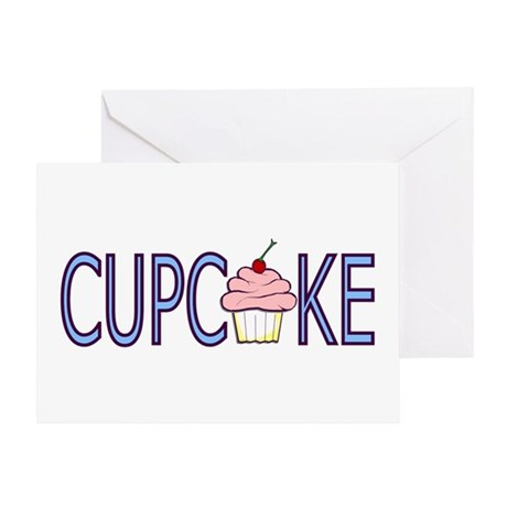 Cupcake Greeting Card