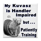 Kuvasz Agility Tile Coaster