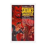 Satan's Daughter Mini Poster Print
