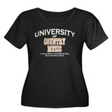 U of Country Music Women's Plus Size Scoop Neck Da