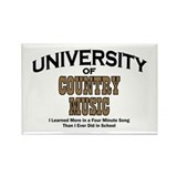 U of Country Music Rectangle Magnet (10 pack)