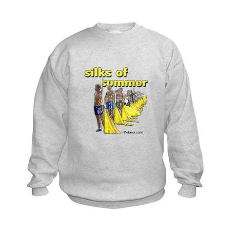 Silks of Summer Kids Sweatshirt