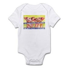 2 Little Piggies Infant Bodysuit