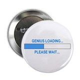GENIUS LOADING... 2.25&quot; Button (10 pack)
