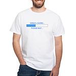 GENIUS LOADING... White T-Shirt