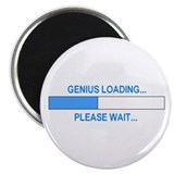 "GENIUS LOADING... 2.25"" Magnet (10 pack)"