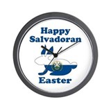 Salvadoran Easter Wall Clock