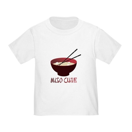 Miso Cute Toddler T-Shirt