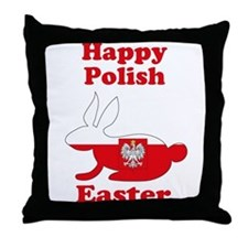 Polish Easter Throw Pillow