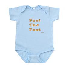 Yom Kippur Fast Infant Bodysuit