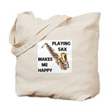 HAPPY SAX Tote Bag