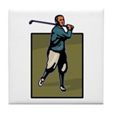 Aspinall Graphics Classic Golf Tile Coaster