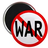 "No War 2.25"" Magnet (10 pack)"