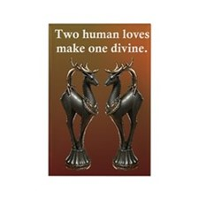 Romantic Rectangle Magnet (100 pack)